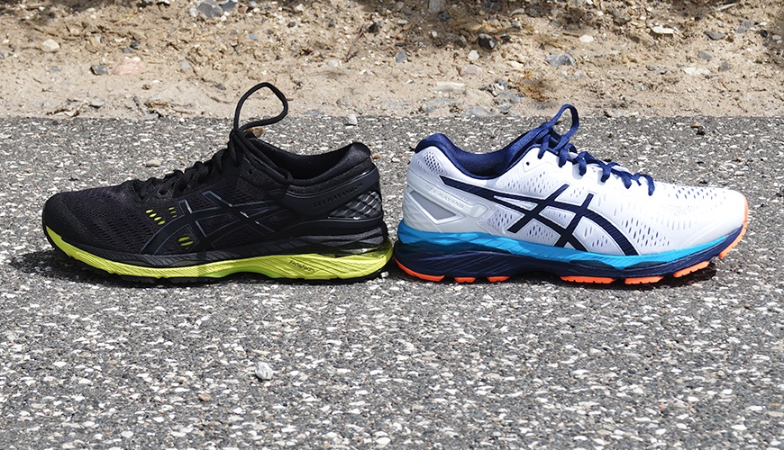 asics gel kayano 23 dame test