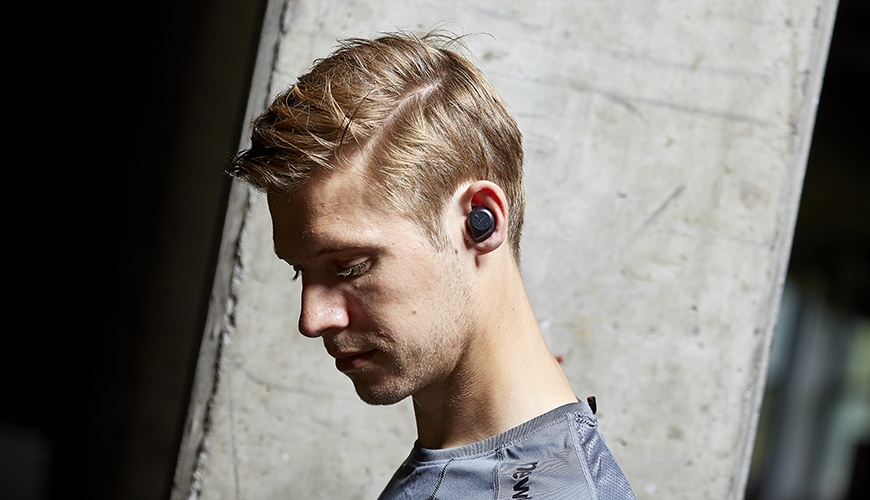 Jabra sport pace wireless hodetelefoner