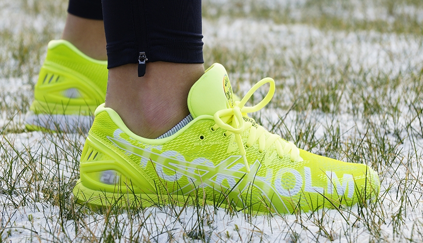 asics stockholm marathon sko