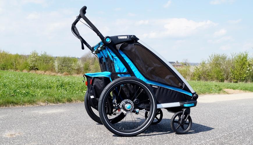 Thule Chariot Sport 2 babyjogger og cykeltrailer