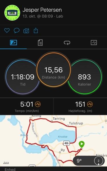 garmin connect 15 km