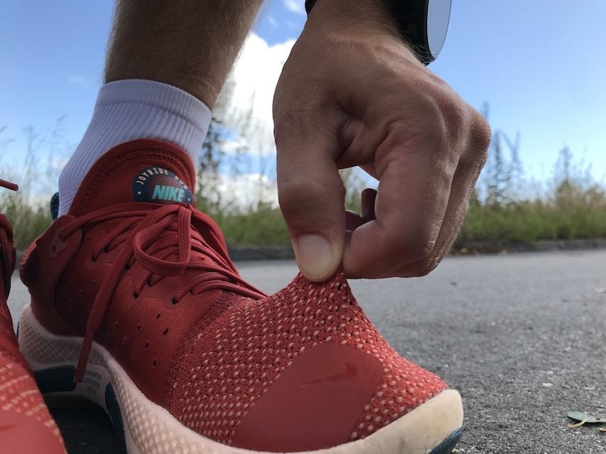 Nike joyride run flyknit overdel