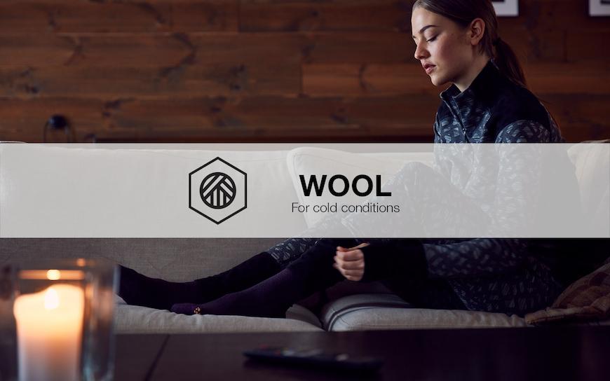 Craft wool baselayer