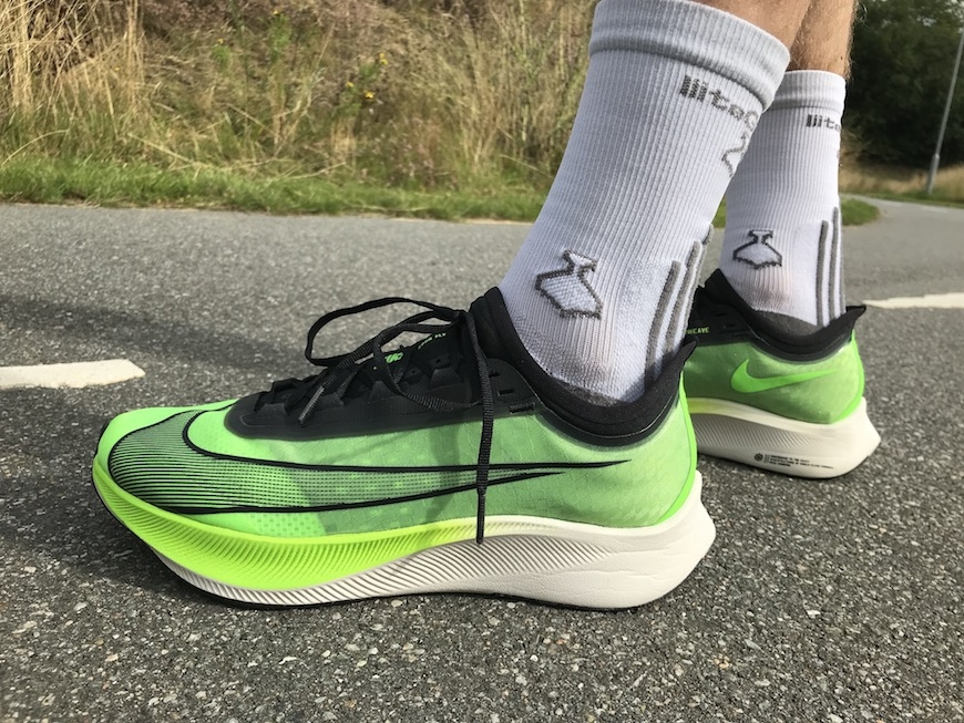 nike zoom fly 3 - test