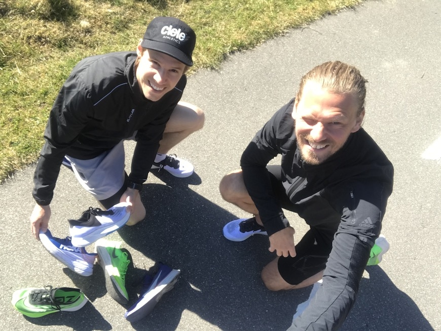 new balance fuelcell tc carbon test
