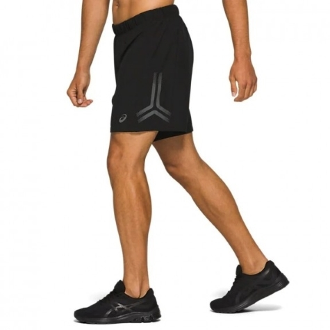 newline black 2-lay shorts