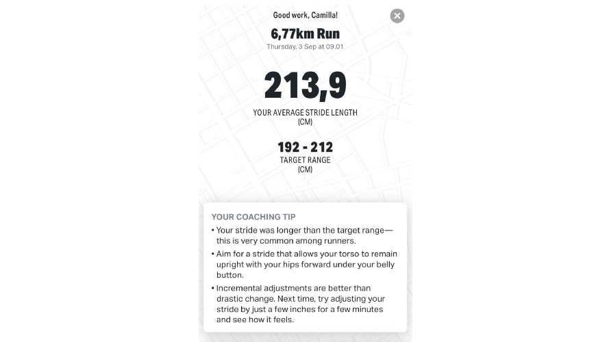Under Armour Hovr Infinite 2 MapMyRun