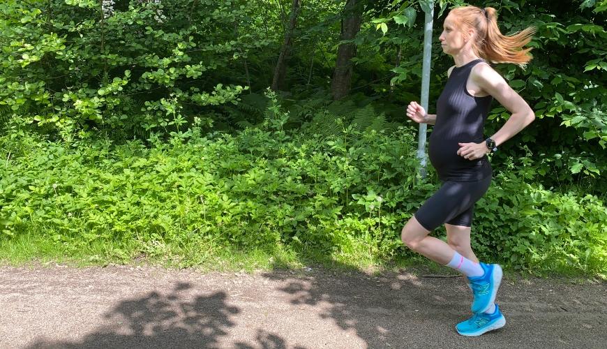 Løp under graviditet