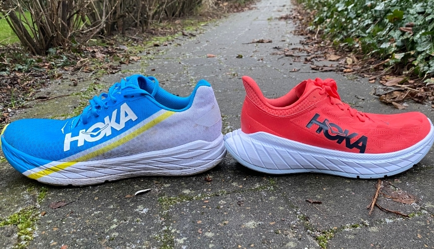 Hoka One One Rocket x vs. Hoka One One Carbon X 2