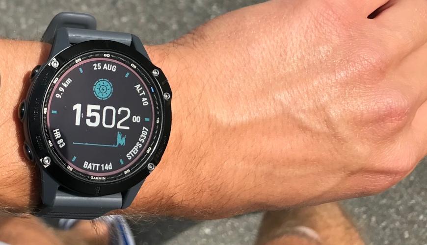 Garmin Fenix 6 Pro Solar Watch Face